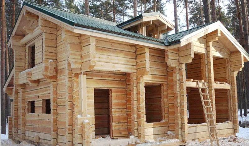 Построить деревянный дом проекты фото
