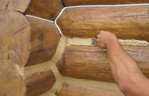 Гидроизоляция дерева на стыке