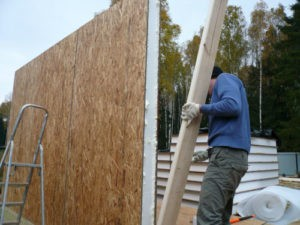 Фото: Строительство дома из СИП панелей