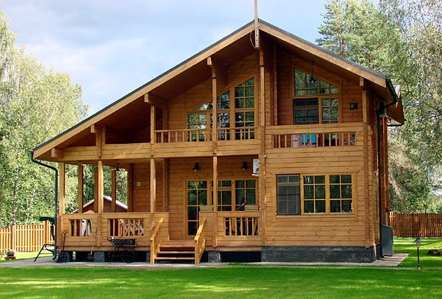 фото:Дом из бруса