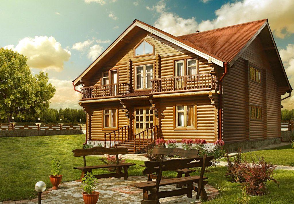 фото: Дом из дерева