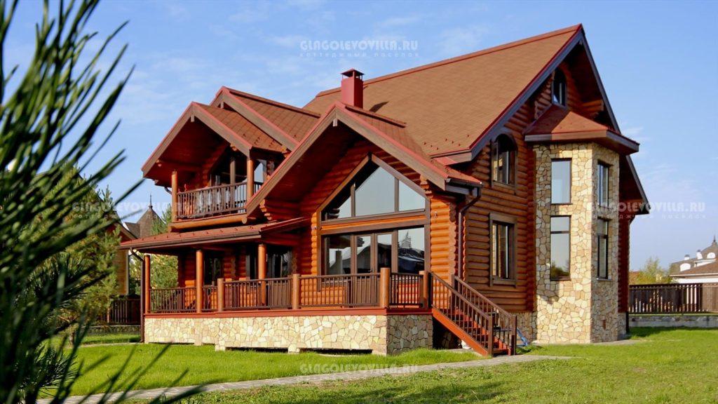 фото: Проект деревянного дома