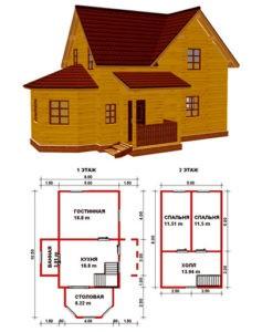 Картинка: Проект большого дома