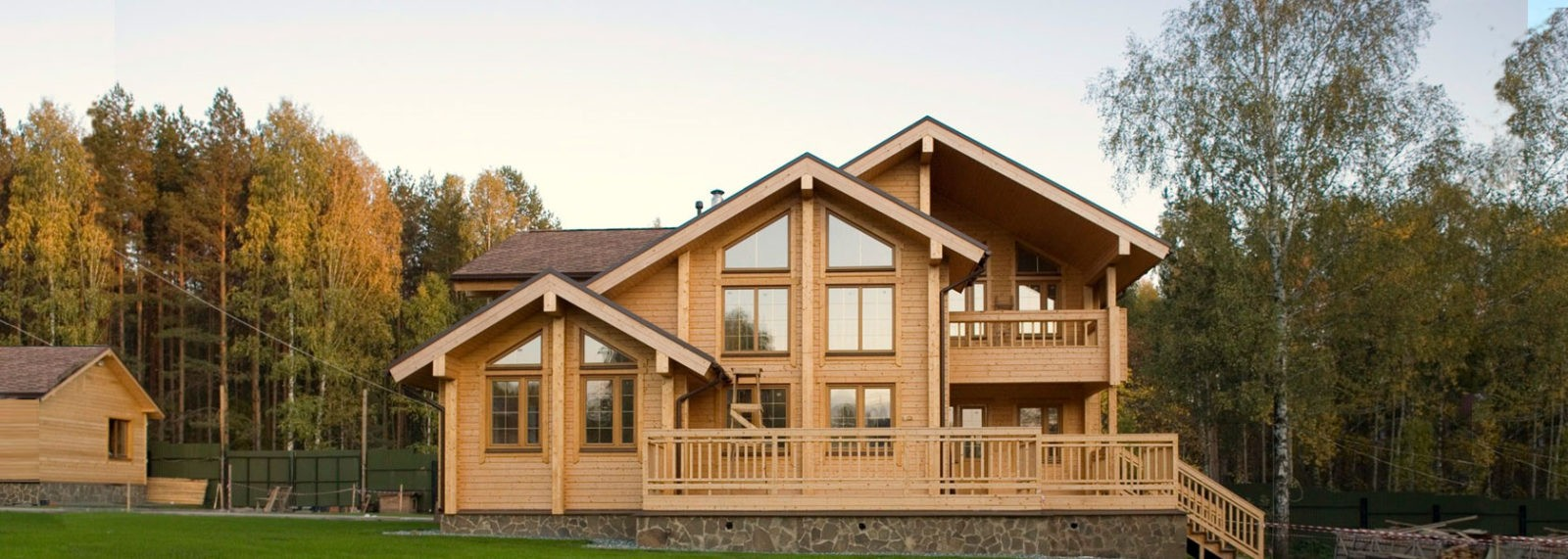 фото: Дом из клееного бруса