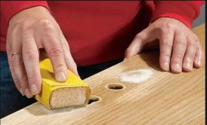 Фото: Применение шкурки для очистки