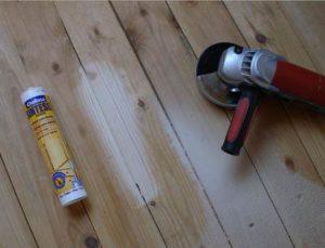 Фото: герметик для деревянного пола