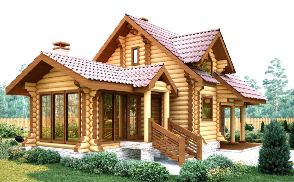 фото Деревянный дом