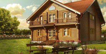 Фото: построить деревянный дом