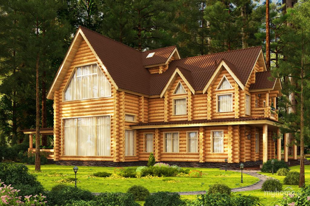 фото: Деревянный дом