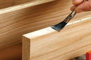 грунтование древесины