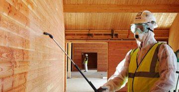 фото: Химическая обработка древесины