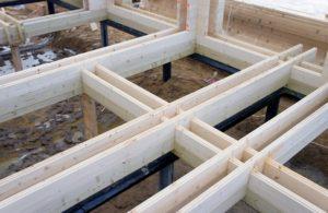 Фото: Строительство дома из двойного бруса
