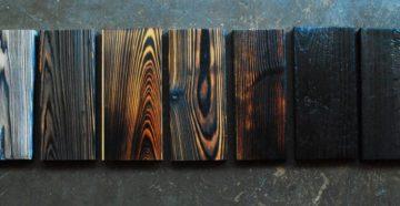 Фото: японская обработка древесины
