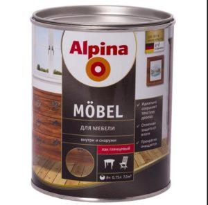 Фото: Alpina на маслельной основе