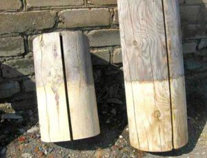 Фото: Эффективность отбеливающих средств для древесины