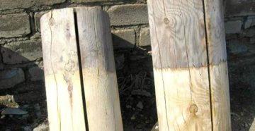 Фото: отбеливатель для древесины